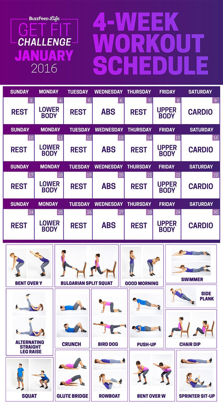 Workout Calendar For Women : Best images about workout on pinterest for women