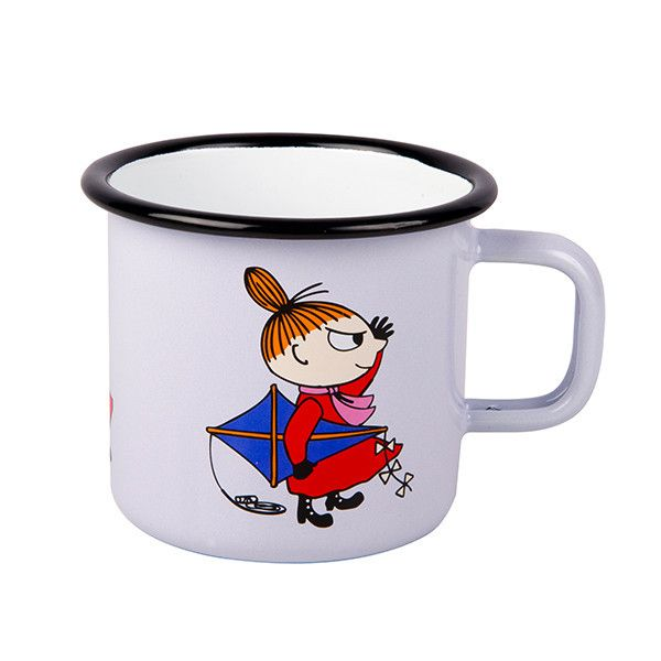 Little My enamel mug by Muurla #moomin #littlemy