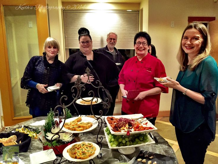 The annual Christmas Party for Exclusive Concierge.  Food by master chef Shirley Lang, and her team from Kitchens of Distinction.