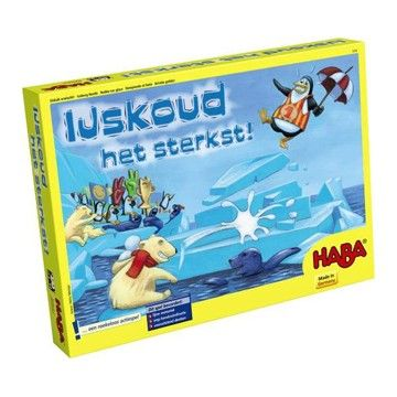 Voor het slapengaan nog even zo'n leuk spel van Haba spelen!