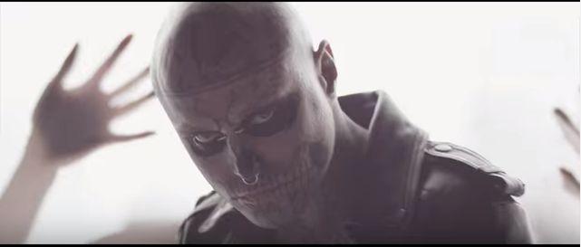 """Rick Genest è il """"Bad Boy"""", nella nuova canzone di SIKA"""