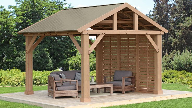 Yardistry Structures in 2020 | Backyard pavilion, Pergola ... on Yardistry Backyard Pavilion id=18353
