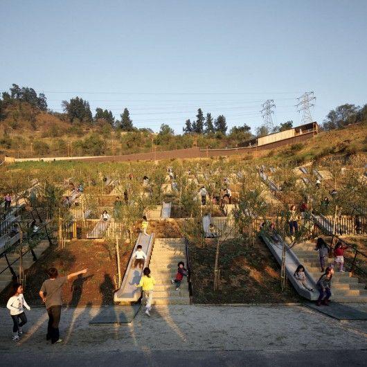 Children's Bicentennial Park / ELEMENTAL  © Cristobal Palma