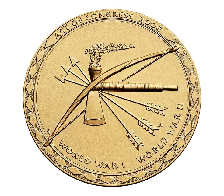 Choctaw Nation Tribe Code Talkers Bronze Medal 3 InchChoctaw Nation Tribe Code Talkers Bronze Medal 3 Inch,