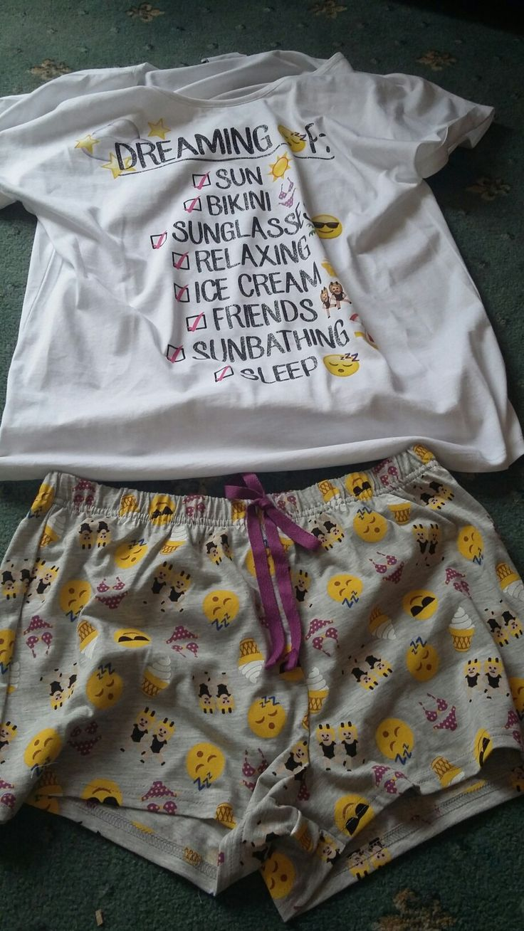 The type of pj's for me
