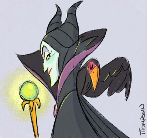 Maleficent by Steve Thompson