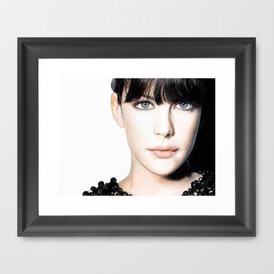 "FRAMED ART PRINT/ SCOOP BLACK MINI (12"" X 10"")"