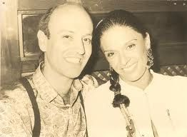 Marcos Sabino and model Betty Lagardere