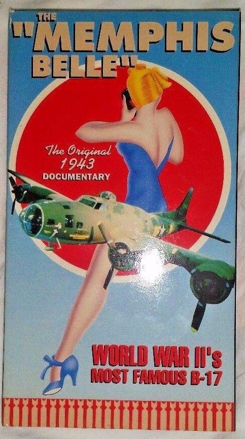 The Memphis Belle Original 1943 Military War Aviation Documentary VHS FREE SHIP