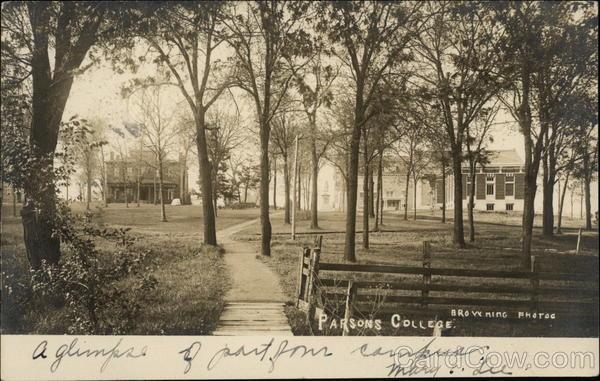 Parsons College Fairfield Iowa
