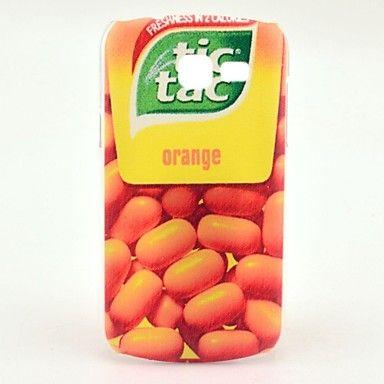 modèle de conception de bonbons d'orange Couverture dure de cas pour samsung galaxy tendance Lite s7390 / s7392 – EUR € 2.87
