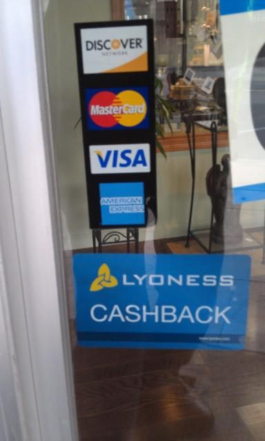 It is nice to see more merchants accepting and offering this card