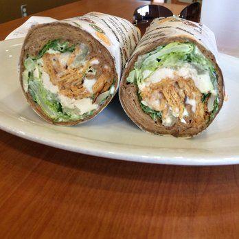 California Chicken Cafe - Encino - Encino, CA. Yummy roast chicken, brocoll salad and roast potatoes.  I also enjoy the rice veggie wrap.
