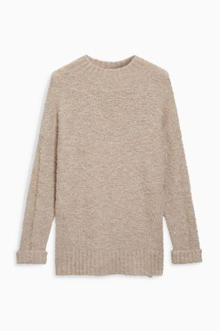 Buy Oatmeal Soft Knitted Jumper from the Next UK online shop