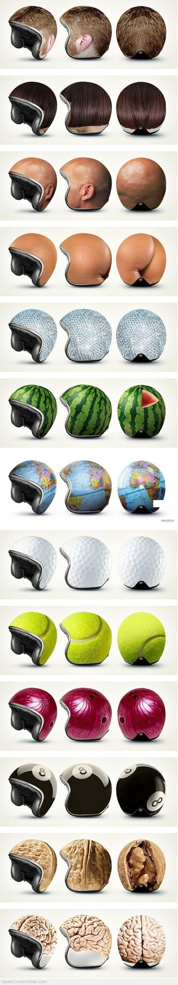 Artistic Helmet Design