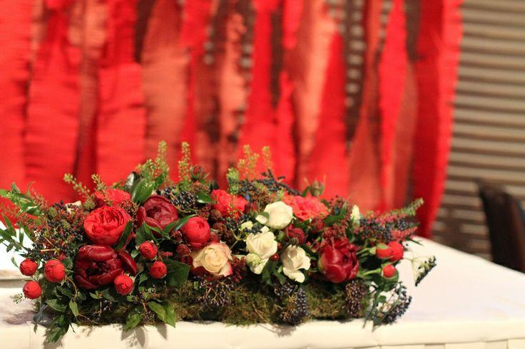 flower arrangement, centerpiece