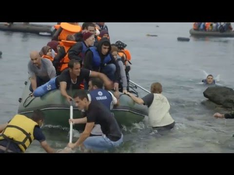Samaritan's Purse Canada - The Rising Tide: Europe's Refugees Wash Ashore in Greece - YouTube