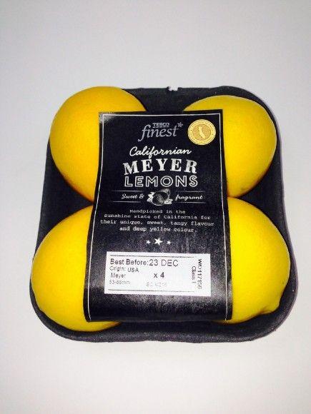 Tesco welcomes exclusive Meyer Lemons