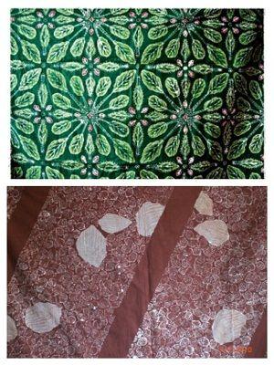 Batik Magelang juga dikenal dengan motifnya water torn yang merupakan salah satu ikon Kota Magelang.