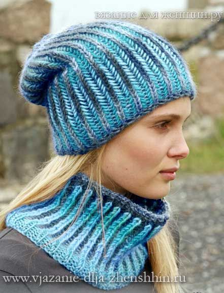 Вязаные шапки спицами | Вязанные шарфы, шапочки.... | Pinterest