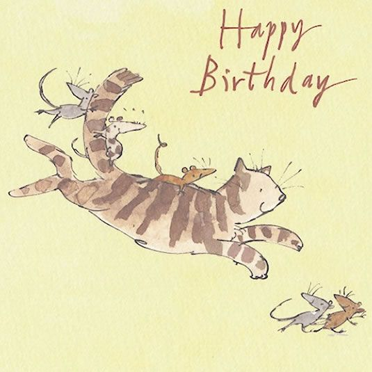 Quentin Blake Happy Birthday