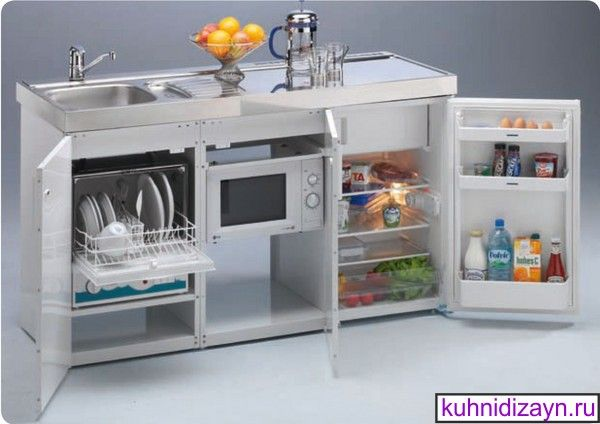 мини кухни, компактные кухни, мини кухни фото, кухни для дачи, мини кухни для малогабаритных квартир