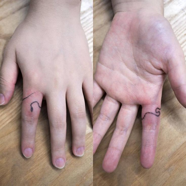 116 mejores im genes de tatuajes en los dedos en pinterest for Snake finger tattoo