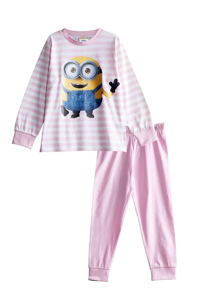 Pyjamas, Rosa, Kids - KappAhl 110/116