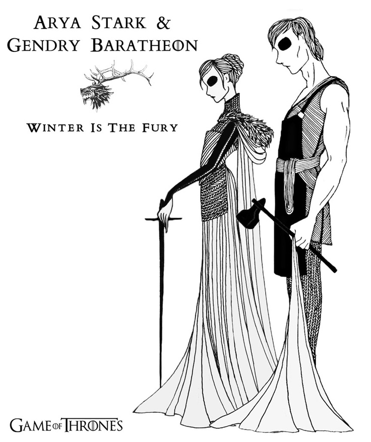 Arya & Gendry...  really cool | Game of Thrones, A Song of Ice and FIre