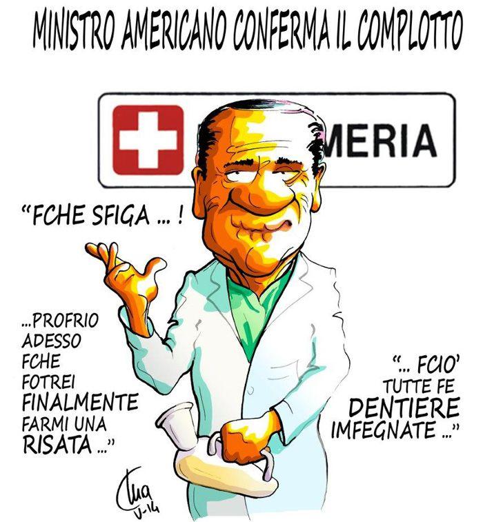 ITALIAN COMICS - Il complotto contro Silvio Berlusconi, e l'astuto Brunetta…