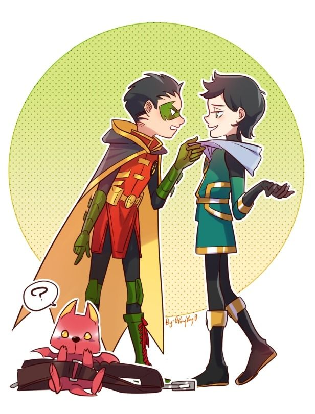 Damian and Loki | Tumblr | Random | Loki marvel, Damian wayne
