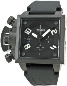 Cheap Welder Men's K25B-4703 K25B Chronograph Black Ion-Plated Stainless Steel Square Watch Online Shopping - http://greatcompareshop.com/cheap-welder-mens-k25b-4703-k25b-chronograph-black-ion-plated-stainless-steel-square-watch-online-shopping