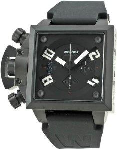 Cheap Welder Men's K25B-4703 K25B Chronograph Black Ion-Plated Stainless Steel Square Watch Online Shopping - http://greatcompareshop.com/cheap-welder-mens-k25b-4703-k25b-chronograph-black-ion-plated-stainless-steel-square-watch-online-shopping