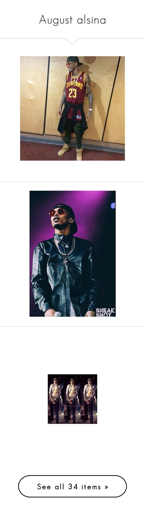 """August alsina"" by lexiesocrazy ❤ liked on Polyvore featuring august alsina, bae, boys, august, august., people, boy, pic, celebrities and pictures"