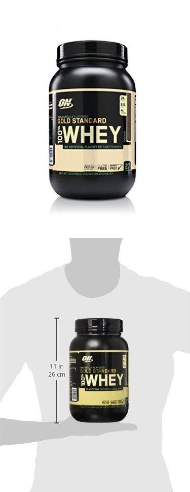 Optimum Nutrition Gold Standard 100% Whey Protein Powder, Naturally Flavored Chocolate, 1.9 Pound