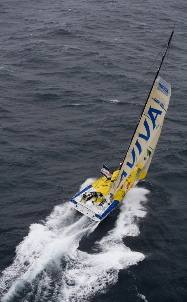 Dee Caffari's 'Aviva' - Dee sailed Aviva to claim the initial round-the-word westabout record (singlehanded, female) in 2006.
