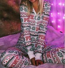 Christmas Pajamas Victoria's Secret | Victoria Secret Thermal Pajamas | eBay
