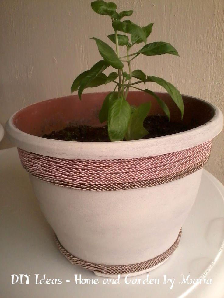 DIY Ideas - Home and Garden by Maria: Βασιλικός : Φτιάξτε Εύκολα Νέα Φυτά Βασιλικού.
