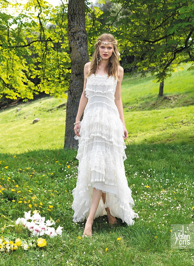 Hippie Chic Wedding Dresses : Bridal collection boho chic wedding dress bohemian