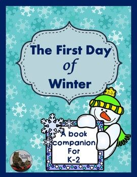 The First Day of Winter is a story by Denise Fleming. It's a similar format as Twelve Days of Christmas. The story unfolds over ten days, as a snowman is dressed up with different items numbering one to ten. It can be sung along to or read as a poem.