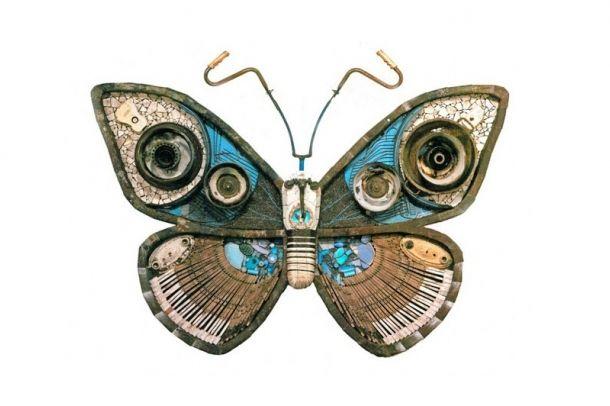 Pillangó hulladékból | Butterfly from waste Forrás/Resource: netdna.webdesignerdepot.com
