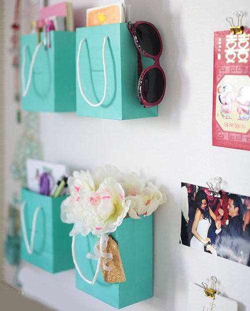 DIY Decorations for Girls Room - Organize With Shopping Bags  | Girls Bedroom Decor Ideas I need to do this !!!!