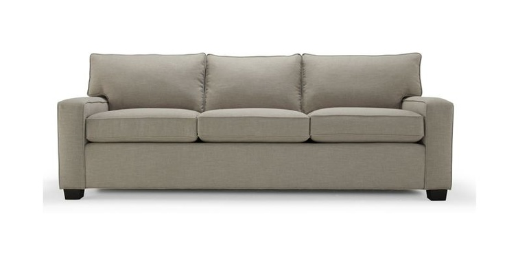 This is supposedly the most comfortable pull out couch on the market, ALEX UPHOLSTERED COLLECTION (pull out / sleeper sofa), as recommended by Apartment therapy, or maybe it was designsponge. Adding this pull out couch would give us more guest sleeping options.