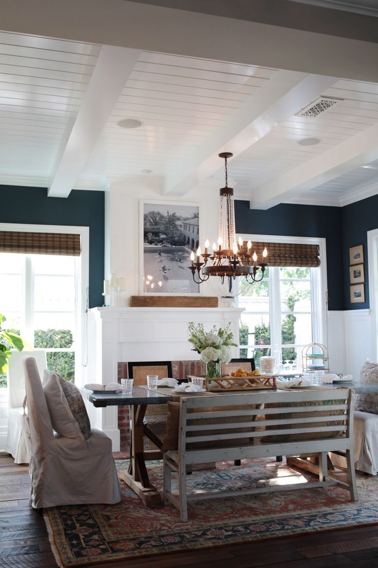Newport Beach Home Tour Dining Room ChandeliersDining