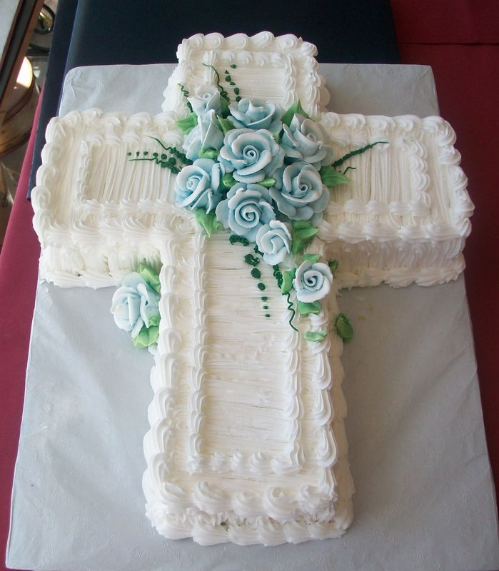 baptism cakes for boy - Google Search