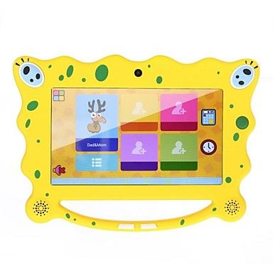 "AM7C08 7"" Android 4.2 Kids' Tablet PC(WiFi,Dual Core,Dual Camera,RAM 512MB+ROM 8GB,High Definition Display) – USD $ 59.99"