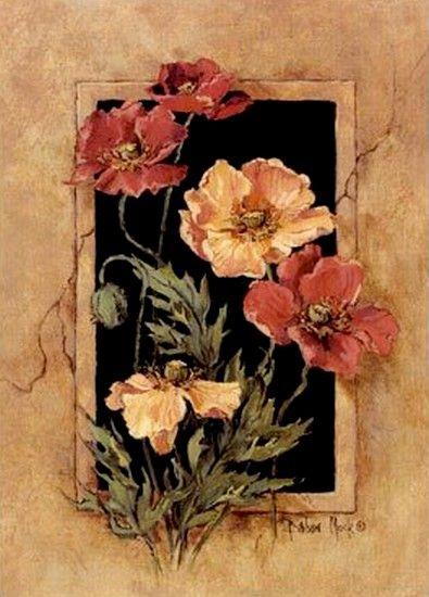 Poppies часть вторая  Сегодня продолжаю выкладывать из своей виртуальной коллекции маки. (Click on images to enlarge) William Jabez Muckley Peter Ellenshaw…
