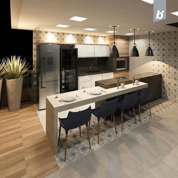 A Arquiteta @brunatdalvi Escolheu O Lançamento Urban Modern Para Compor  Essa Cozinha. E Aí