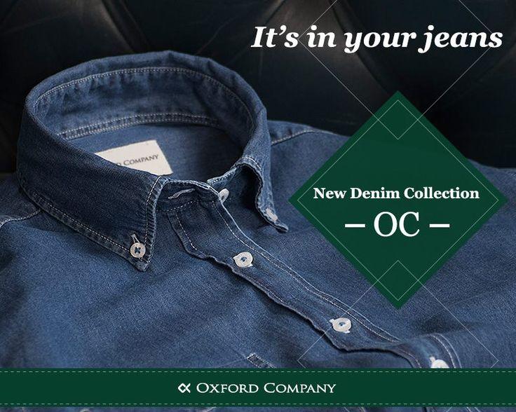 Το αγαπάμε γιατί: μας βγάζει από τη δύσκολη θέση της επιλογής, ταιριάζει με όλα, είναι άνετο, προσαρμόζεται εύκολα στις περιστάσεις. Είναι το τζιν πουκάμισό μας! Τα Denim της νέας OC συλλογής είναι στα καταστήματά μας και περιμένουν να τα διαλέξετε!  ΜΠΕΣ | ΔΕΣ | ΑΓΟΡΑΣΕ http://bit.ly/oxfordcompany  #oxfordcompany #fallwinter_collection #denim