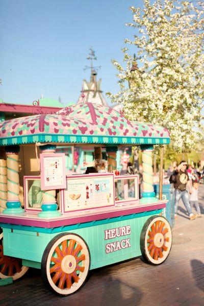 Disneyland in spring, Fantasyland, Disneyland Paris